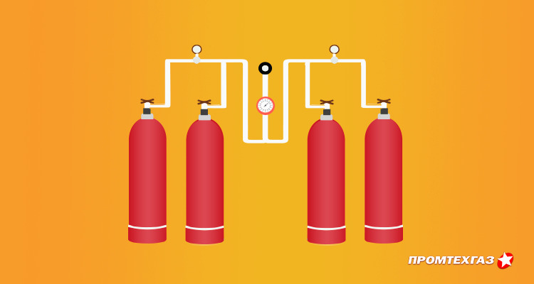 Газовые баллонные установки - краткие сведения