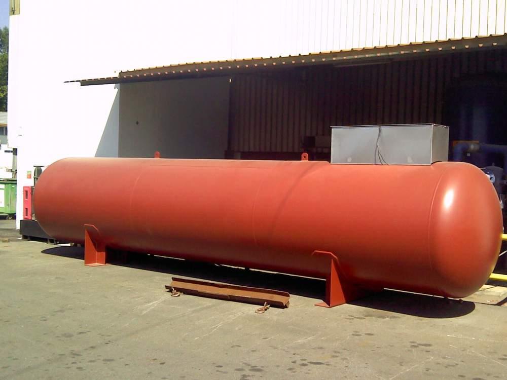 Объем газгольдера в 10 куб. метров