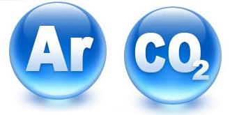 Сварочная смесь или углекислота, аргон и углекислота