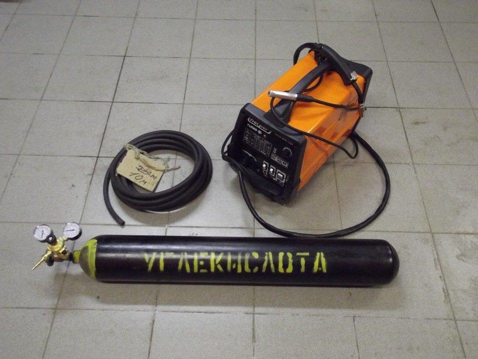Сварочная смесь или углекислота для сварного аппарата