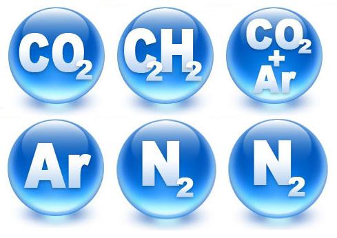 Сварочная смесь или углекислота, универсальный защитный газ
