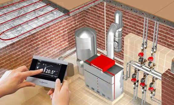 Газгольдер расход газа, автоматизация