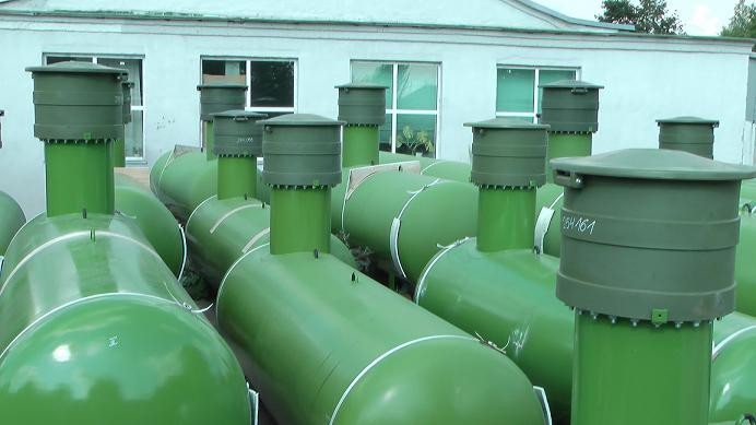 Обслуживание качественного газгольдера