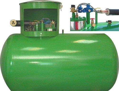 Сроки обслуживания газгольдера