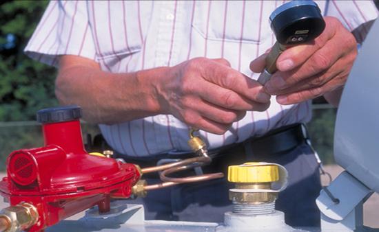 Система газгольдера - обслуживание