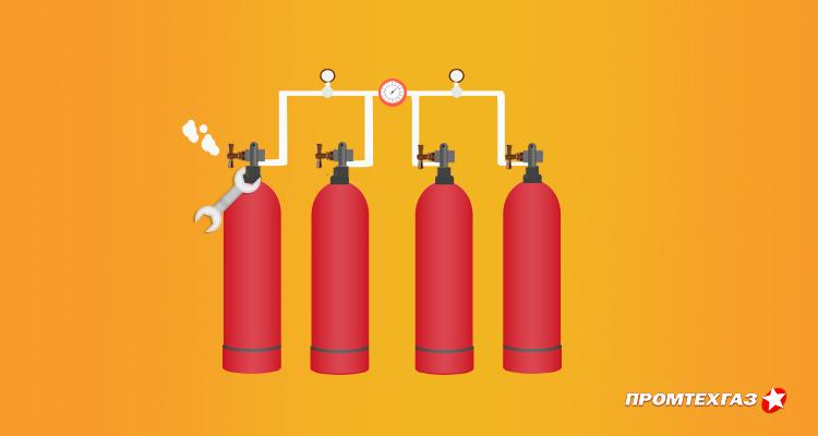 Эксплуатация баллонных установок в автономной системе газоснабжения