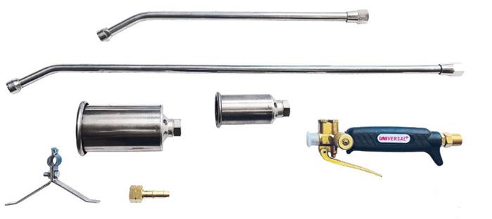 Детали устройства газовоздушной горелки