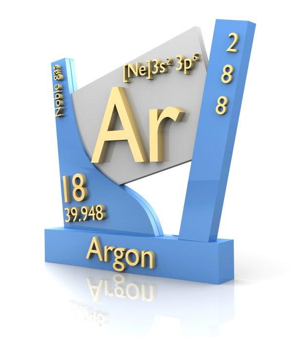Свойства газа аргона
