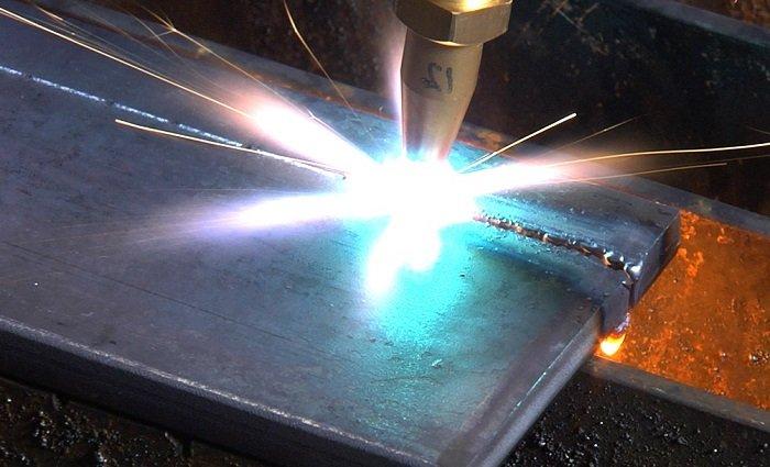 Резка металла с помощью технического кислорода