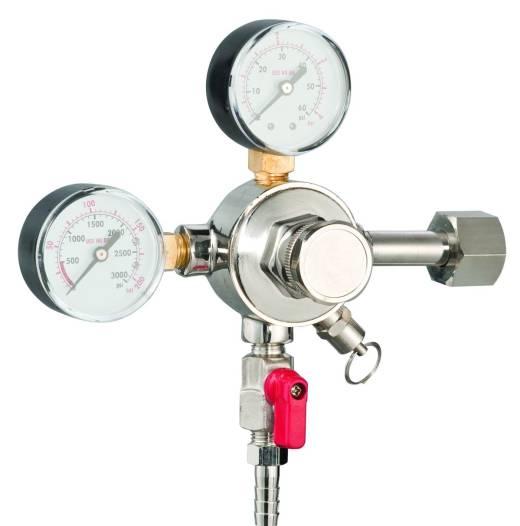 Редуктор для проверки давления пивного газа