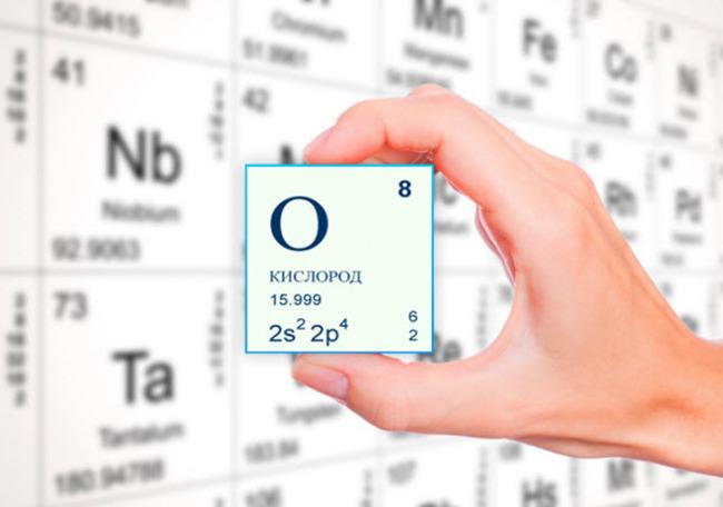 Кислород и его свойства