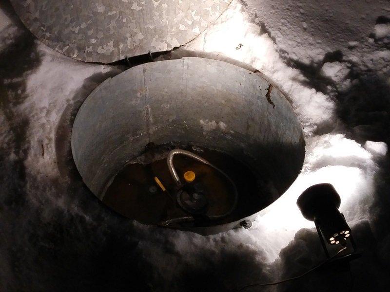 Замерзание газгольдера приводит к остановке газового котла