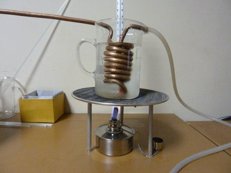 Нагревание и газификация аргона