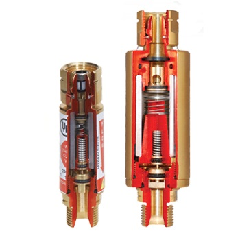 Образцы огнепреградительных клапанов в разрезе