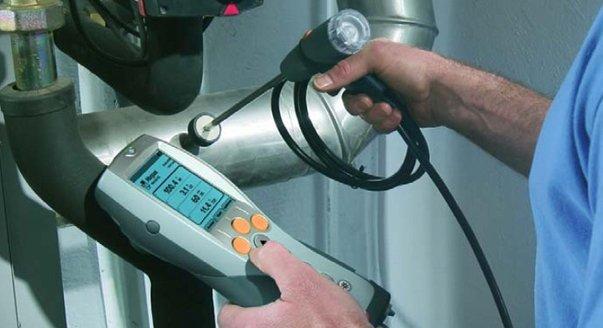 Исследование состояния газового котла приборами