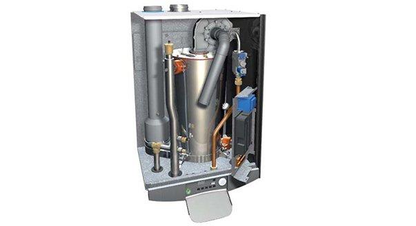 Внутреннее устройство газового котла