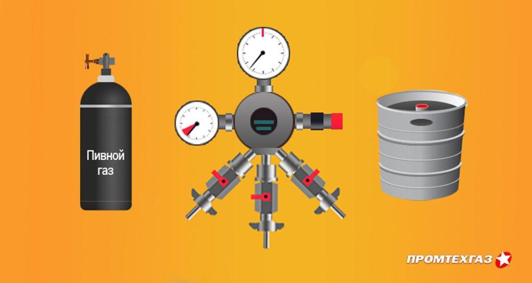 Газ для пива – принципы установки оптимального давления