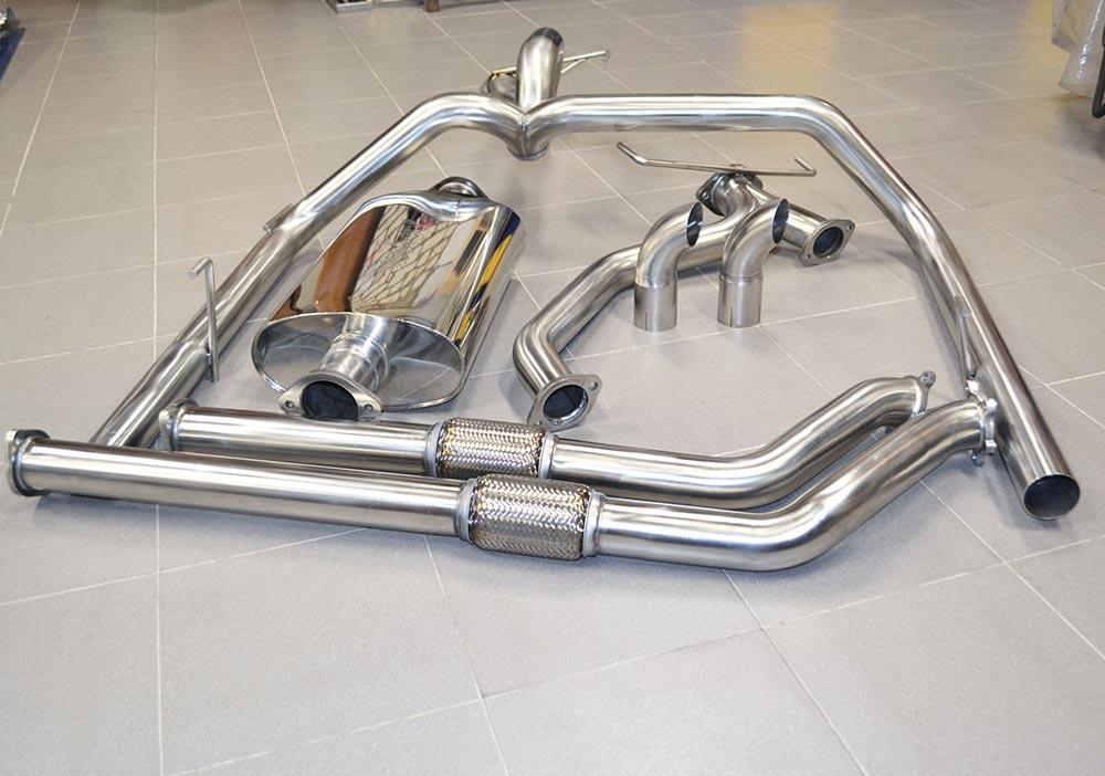 части выхлопной системы автомобиля