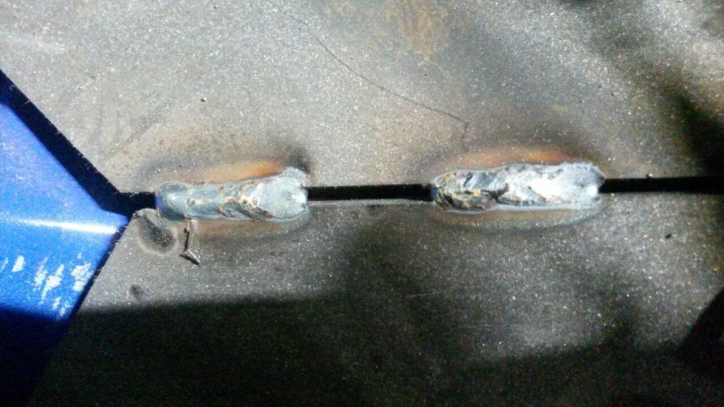 соединение с помощью газосмеси