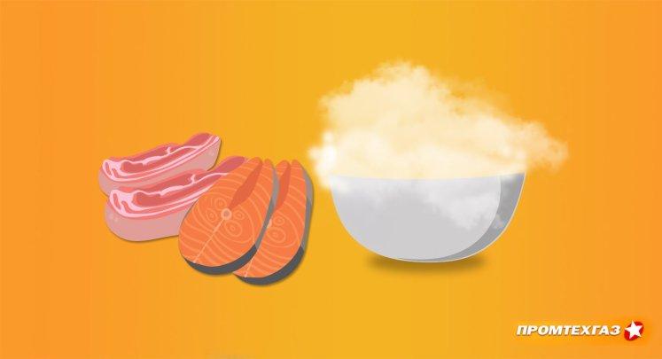 Криогенная заморозка продуктов азотом - описание техпроцесса и его преимущества