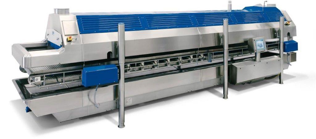 туннельный фризер для заморозки продуктов азотом