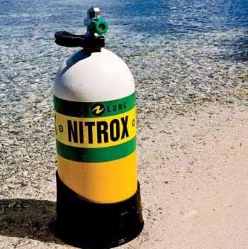 нитрокс - дыхательная смесь для водолазов