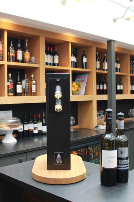 Вакуумный дозатор для вина