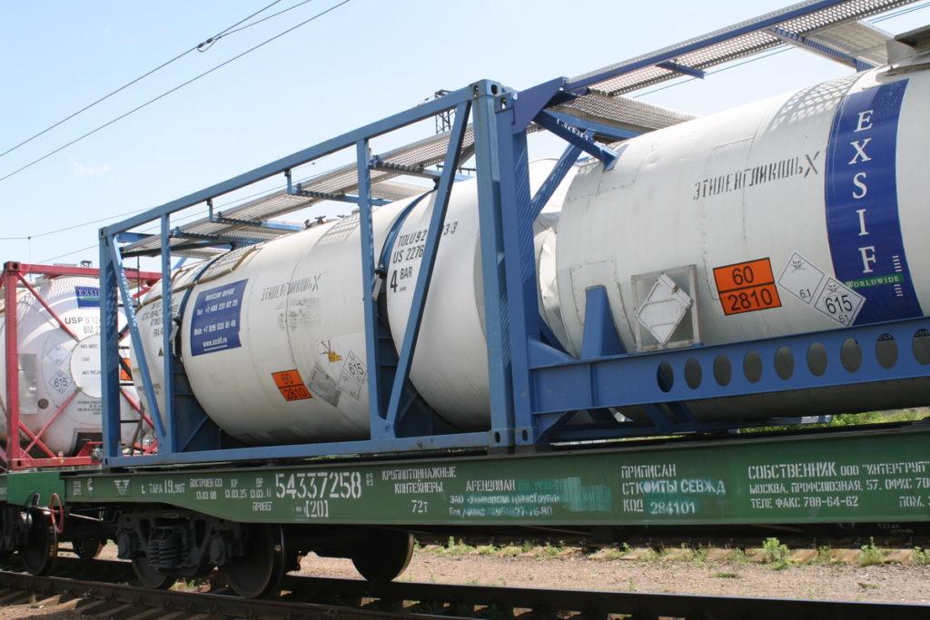 железнодорожная транспортировка легковоспламеняющихся жидкостей