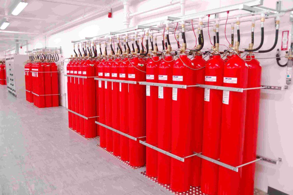 комплексная система газового пожаротушения
