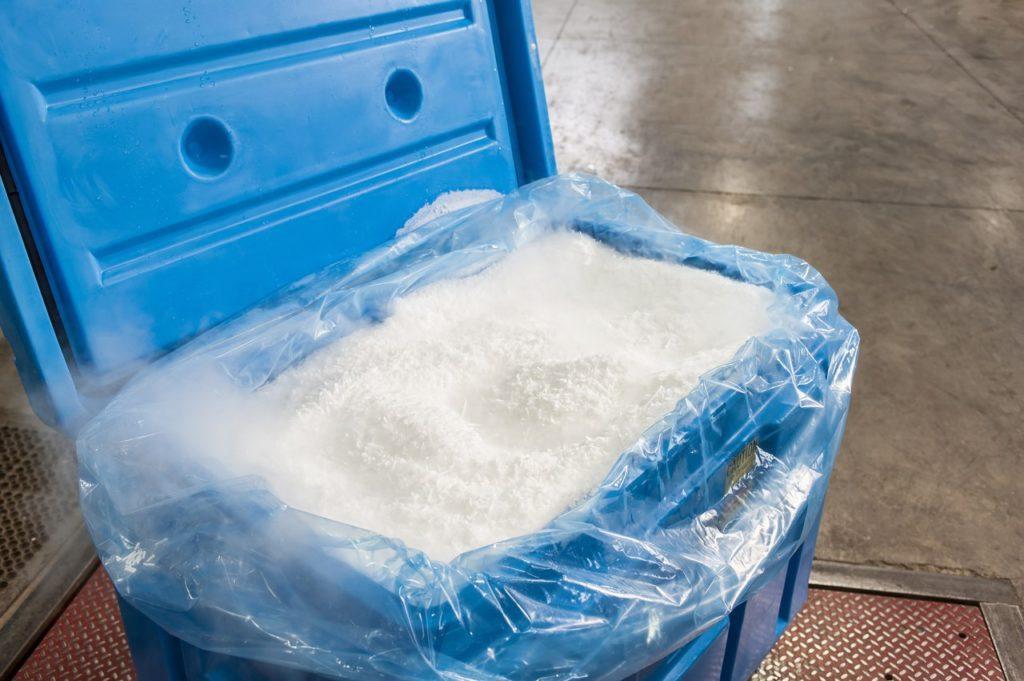 контейнер с сухим льдом