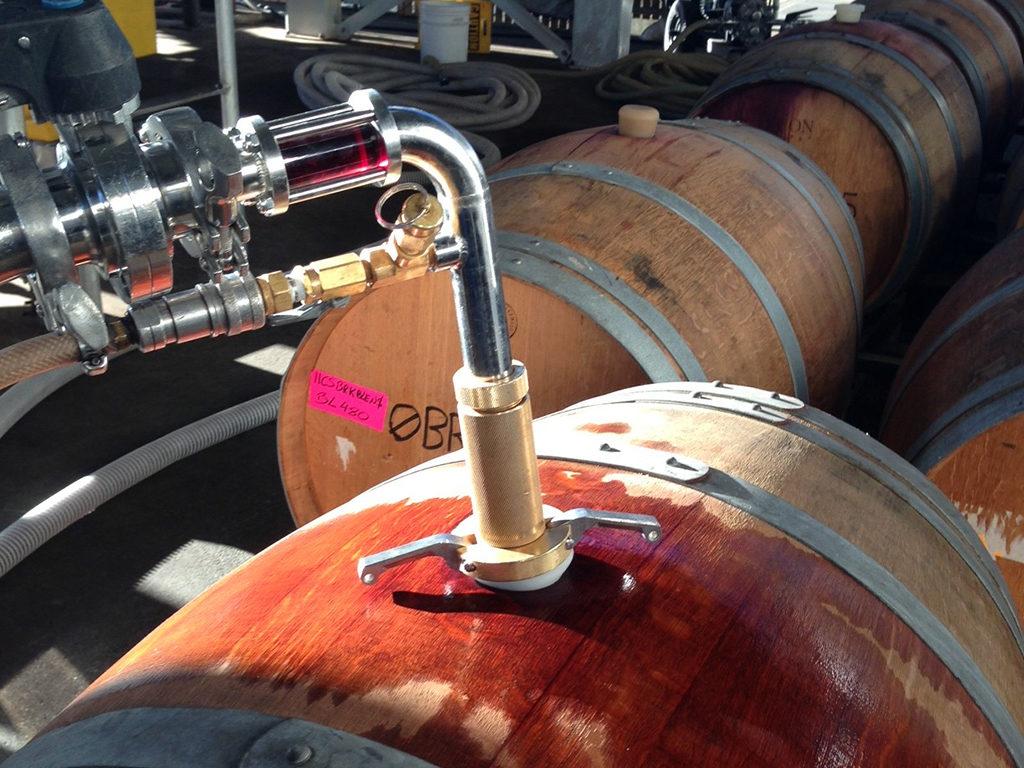 применение азота в виноделии