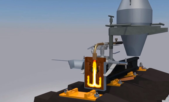 процесс алюминотермитной сварки