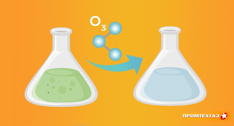 Очистка питьевой воды техническими газами: особенности технологии