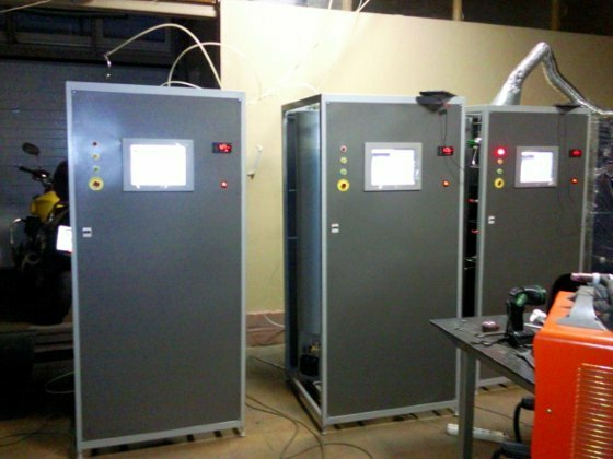 установка получения особо чистого газа