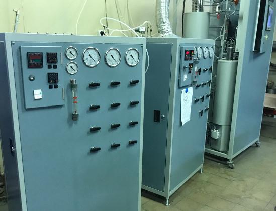установки получение ОСЧ газов особой чистоты