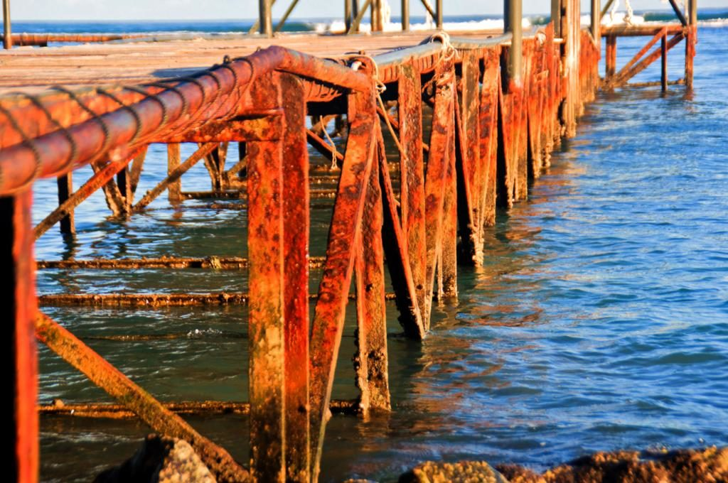 морская коррозия металлоконструкций