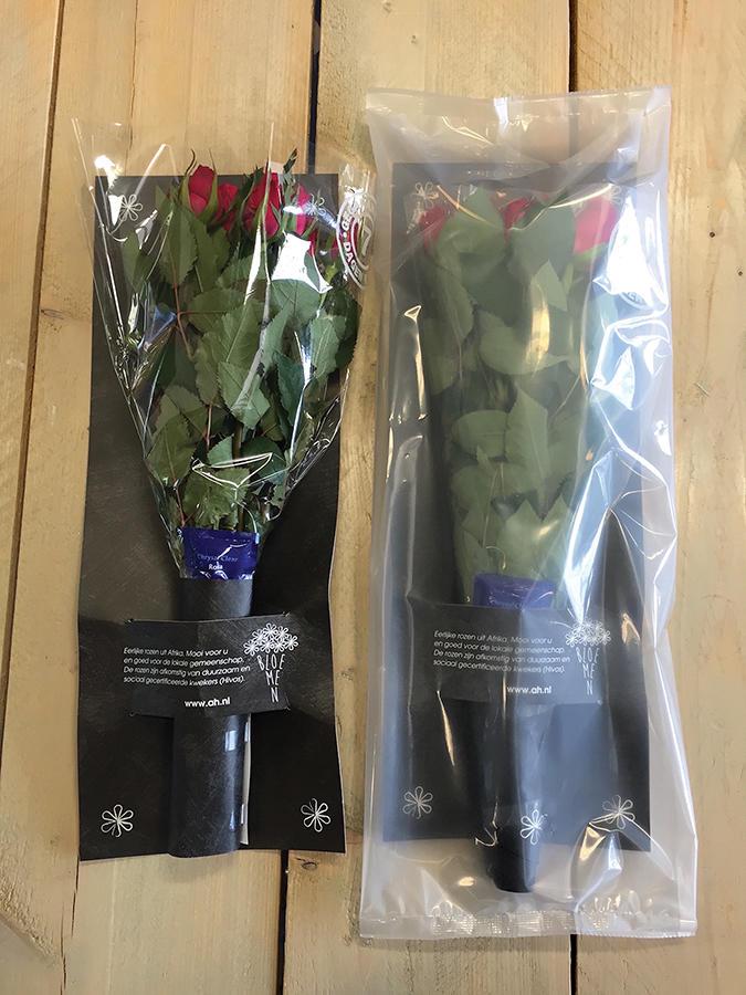 упаковка цветов в модифицированную газовую атмосферу