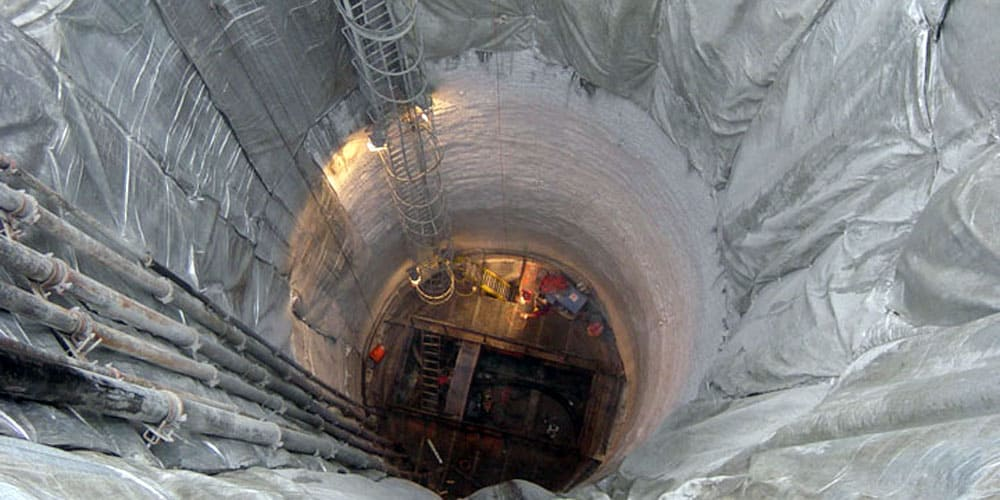 заморозка грунта азотом при строительстве
