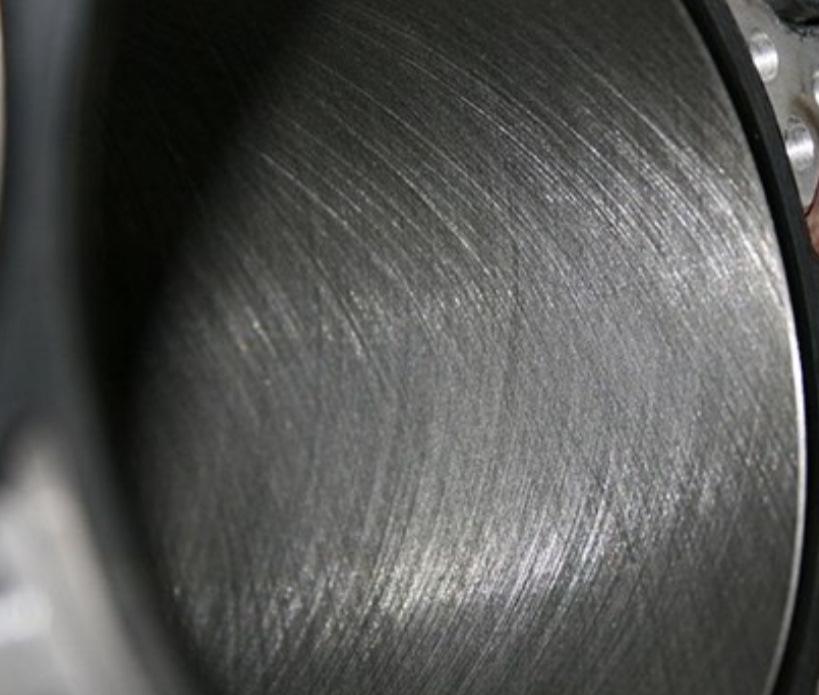 абразивный износ цилиндрической детали