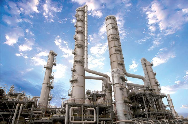 башни для каталитического крекинга нефти