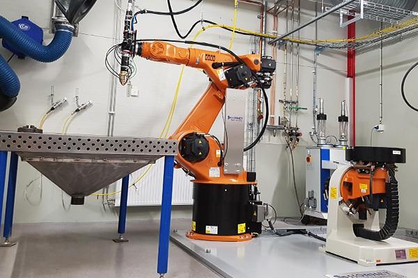 промышленный газовый лазер
