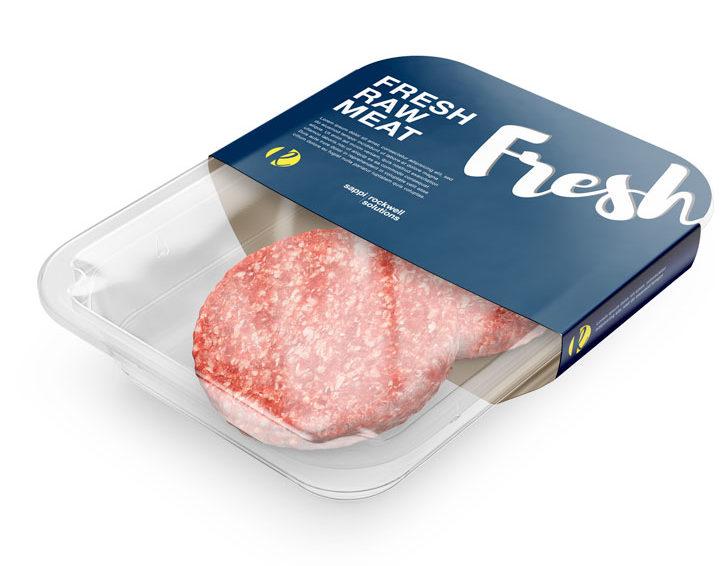 свежее мясо в газовой среде