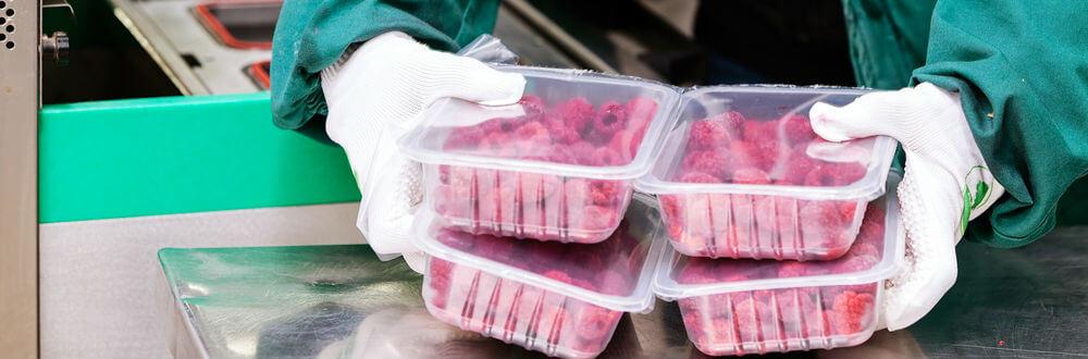 упаковка овощей и фруктов в модифицированной газовой атмосфере