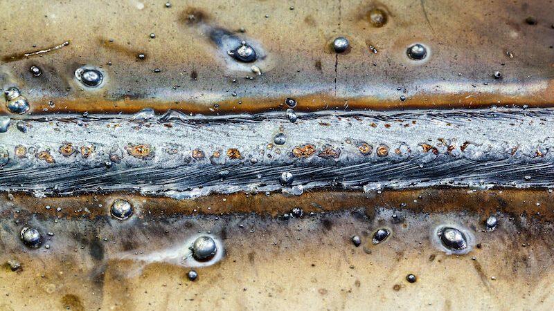брызги металла при сварке
