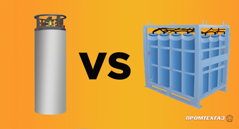 Криоцилиндры или газовые моноблоки – принимаем верное решение