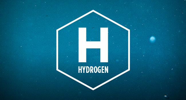 значок водорода