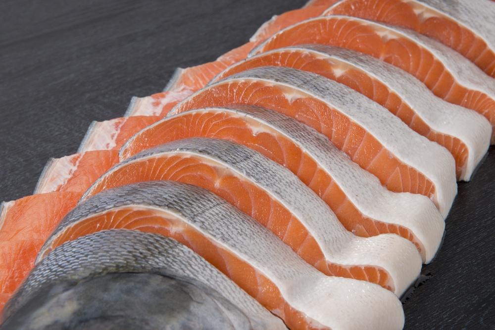 нарезка лосося
